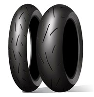 Dunlop Alpha GPR 13 Z rated Pair Deal $400 fitted 120 & 180 or 190 55-17